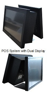 Palas Point of Sale with dual display, POS System with dual display, India
