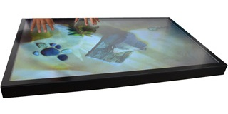 Palas Metal Panel Multi Touch Screen Monitor with full front glass, Touchscreen Monitor, India