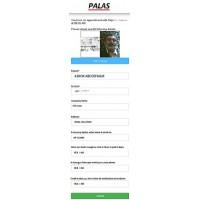 Palas Contactless Visitor Registration (PCVR) software