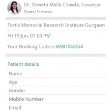 Hospital Patient Registration